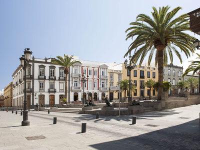 Spain_Gran Canaria_Las Palmas_Plaza Santa Ana