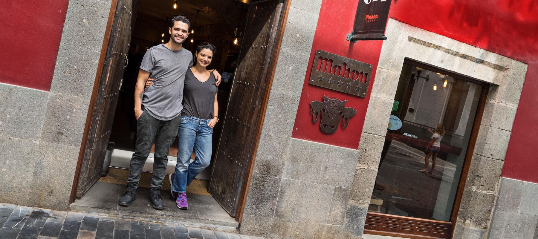 Qué Leche, en av de mest populära krogarna på Gran Canaria