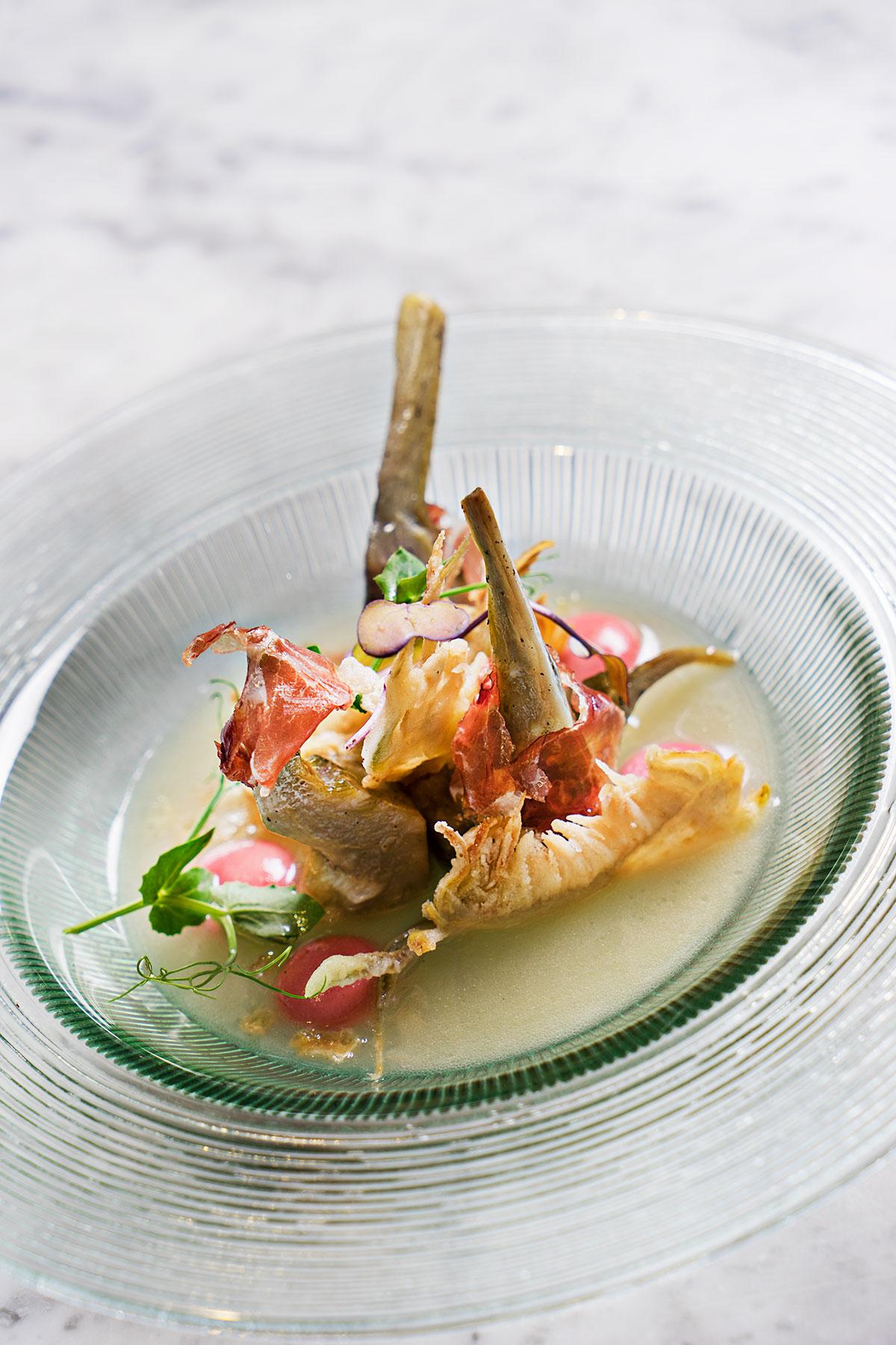 Gastrobar La Barra de Traddiction, smårätter, goda smaker, traditionellt möter medelhav, god mat