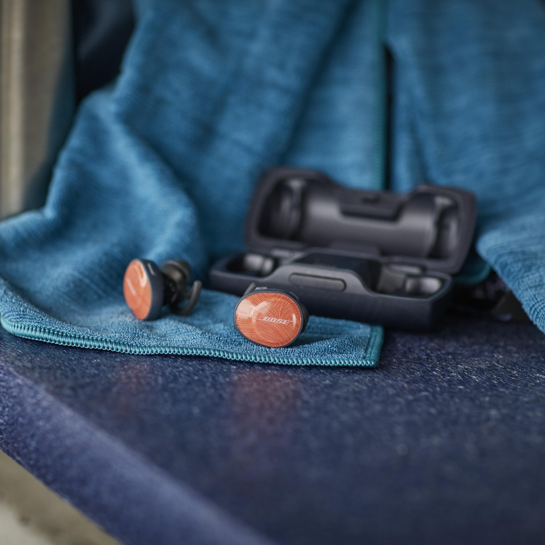 trådlösa hörlurar för aktiva resenärer, Bose