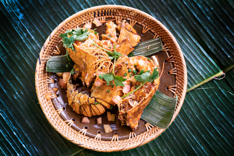 Malaysia_Borneo_Sabah_god mat_Kulinsrisk_skaldjur_fisk